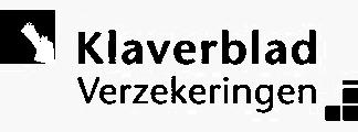 logo klaverblad verzekeringen grijs